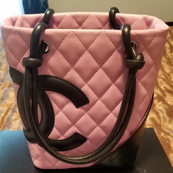 6aeb1a2fe3e325 CHANEL Bags | Lambskin Cambon Bucket Bag Petite Tote | Poshmark